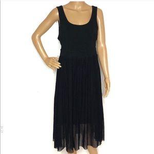 Torrid sleeveless black dress with ballerina skirt